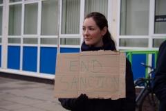 Benefit Sanction Protest